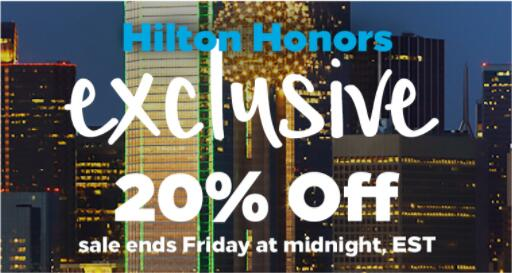 hilton-honors-america-flash-sale-20off