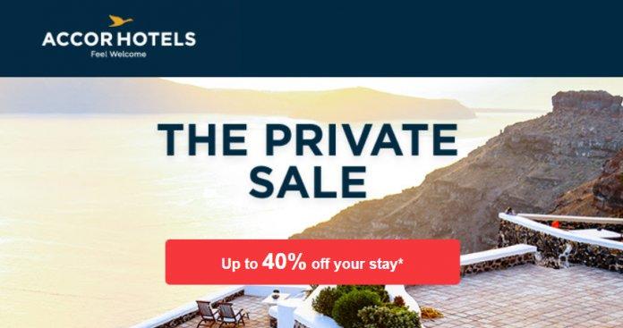 Accorhotels雅高优惠活动:全球酒店闪电促销The Private Sale,低至6折优惠(2018/5/3前)