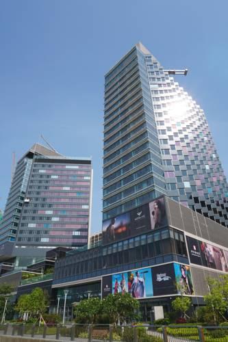 香港酒店推荐:香港海汇酒店(Hotel VIC on the Harbour),2018年新开业,全海景房,无边泳池