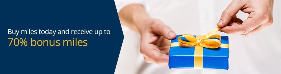 美联航里程促销:购买UA里程(MileagePlus)享70%奖励优惠(2018-11-20前)